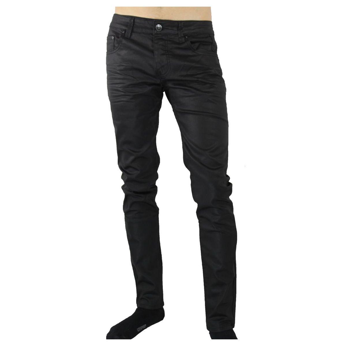 jeans noir huil. Black Bedroom Furniture Sets. Home Design Ideas