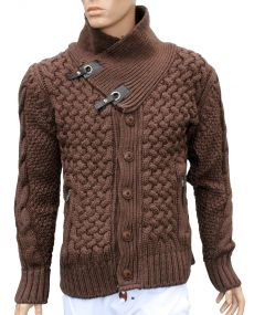 Gilet fashion marron