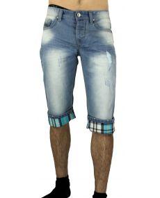 Bermuda jeans délavé 06