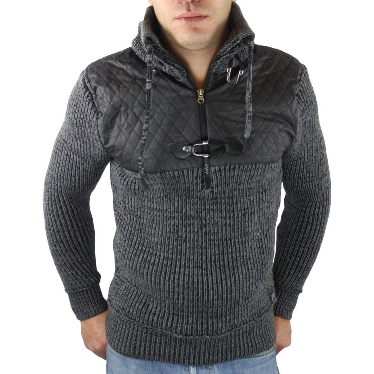 Veste Homme Fashion Grand Col