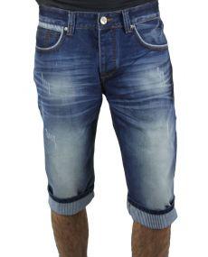 Bermuda jeans homme 27