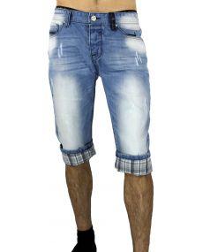 Bermuda jeans délavé 60