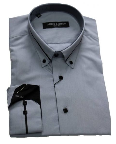 chemise col italien