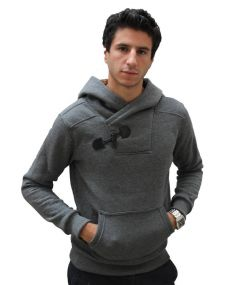 Sweat homme a capuche
